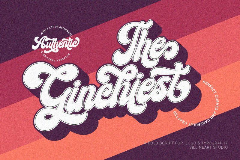 Ginchiest Font - Befonts com