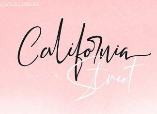California Street Script Font