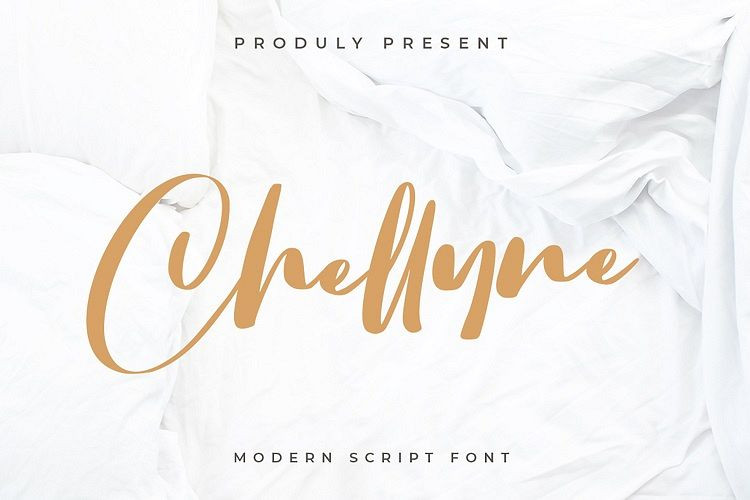 Chellyne Script Font
