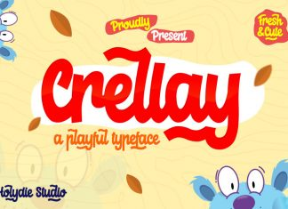 Crellay Cute and Fun Font