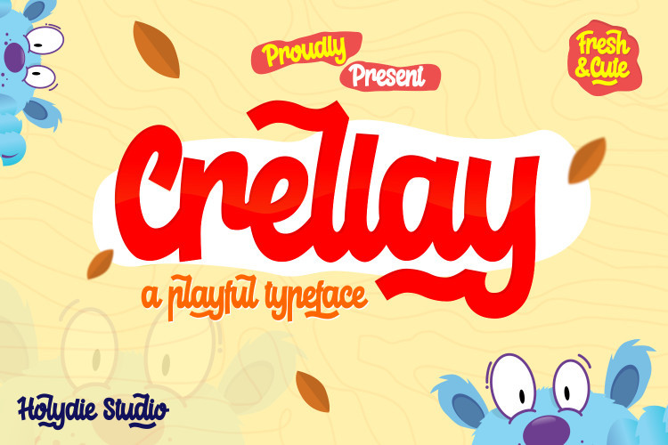 Crellay Cute and Fun Font