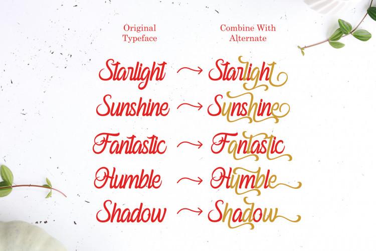 Ferishley Sunshine Font