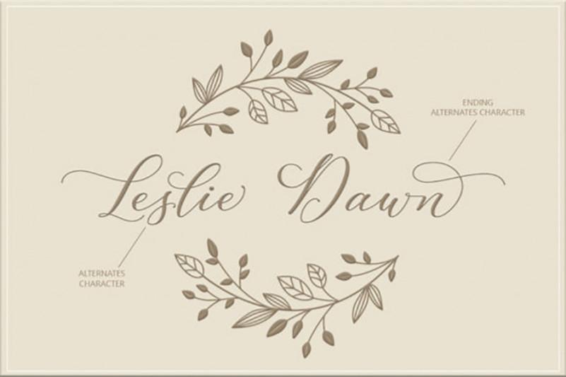 Leslie Dawn Font