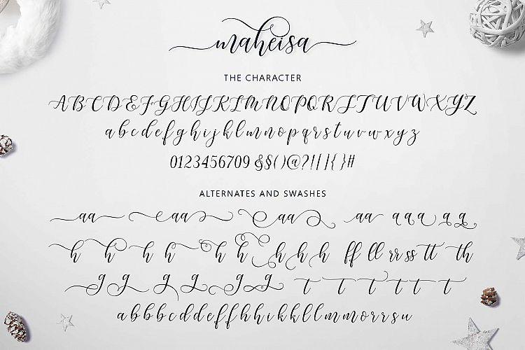 Maheisa Font