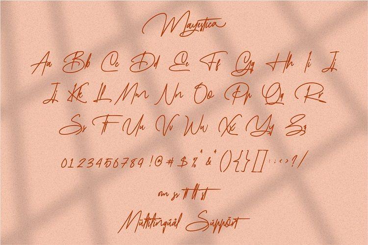 Mayestica Font