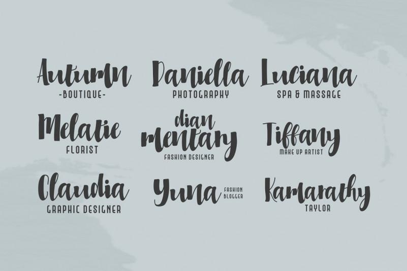 Millicious Font Duo