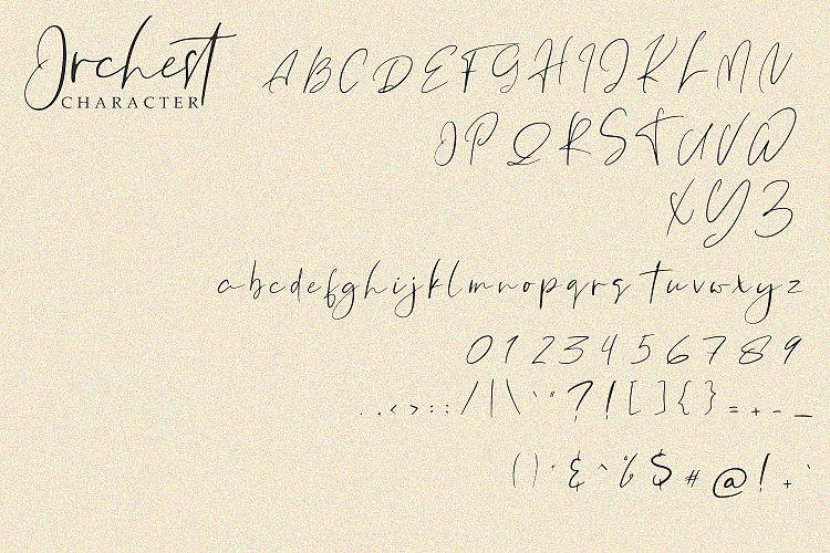 Orchest Font