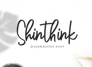 Shinthink Script Font
