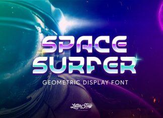 SpaceSurfer Typeface