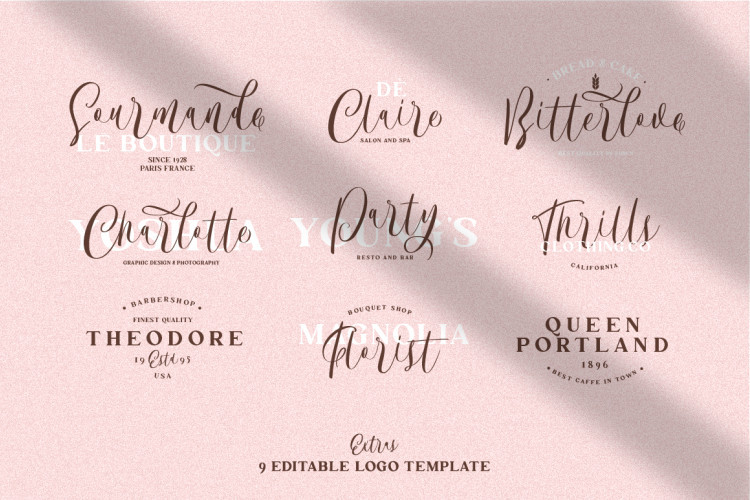 The Bordellia Font Duo