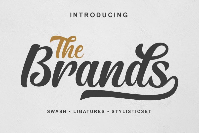 The Brands Script Font