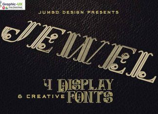 Jewel – Display Font