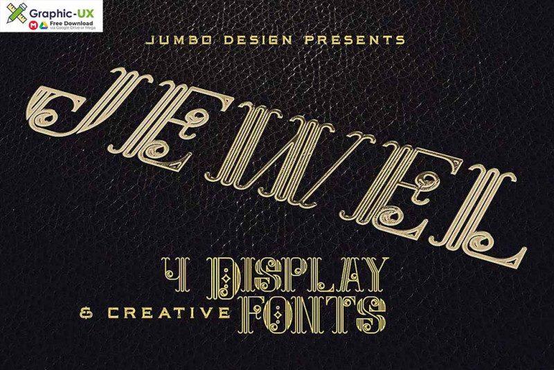 Jewel – Display Font