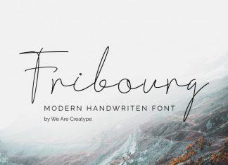 Fribourg Handwriten Font