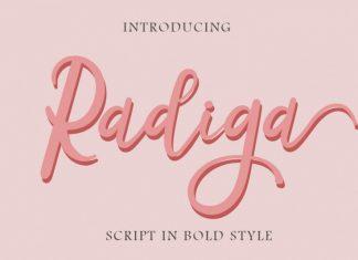 Radiga Script Font