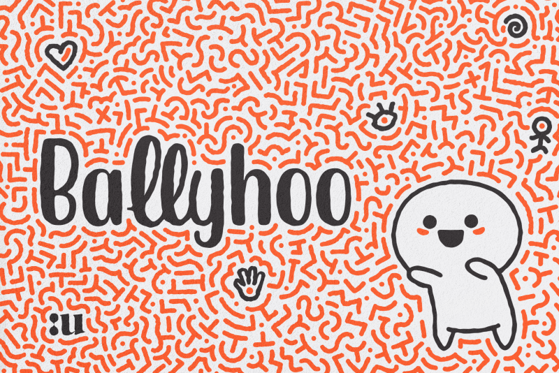 Ballyhoo Display Font