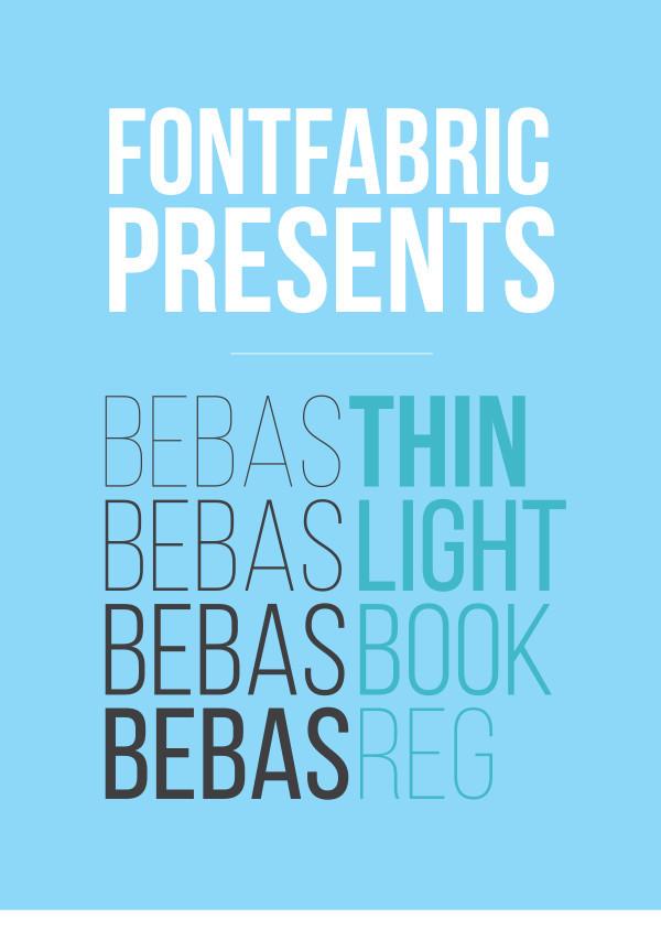Bebas Neue Font Family