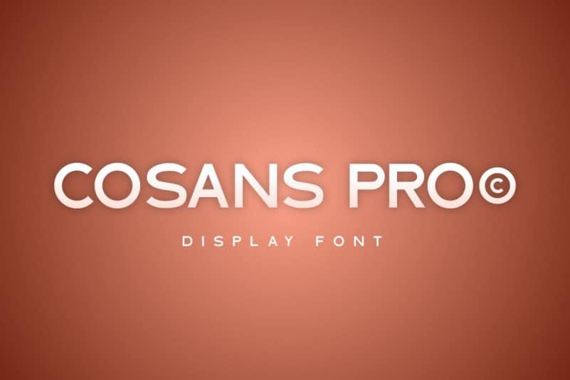 Cosans Pro Sans Font