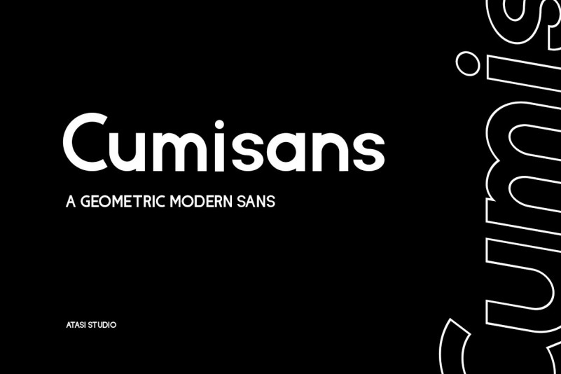 Cumisans Geometric Sans Font