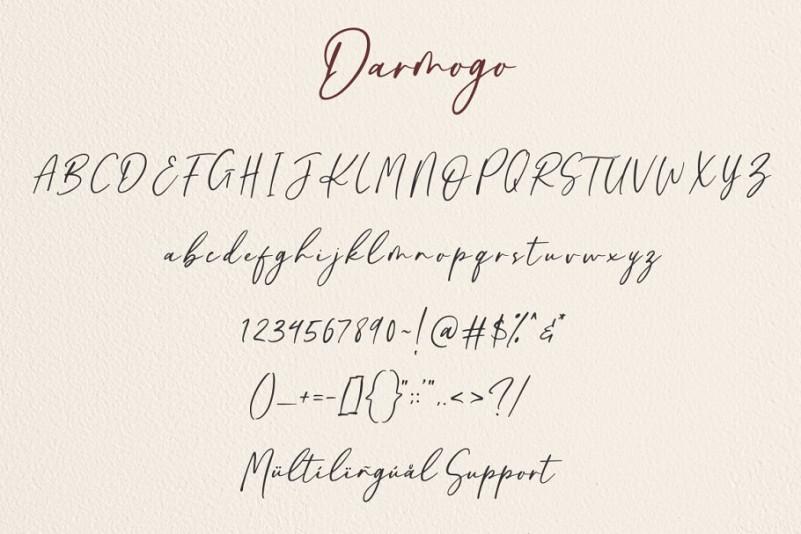 Darmogo Font