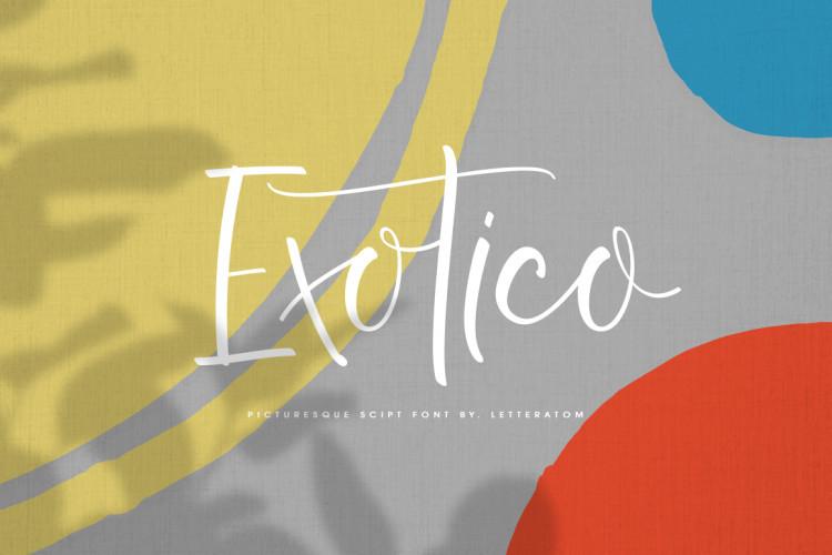 Exotico Script Font