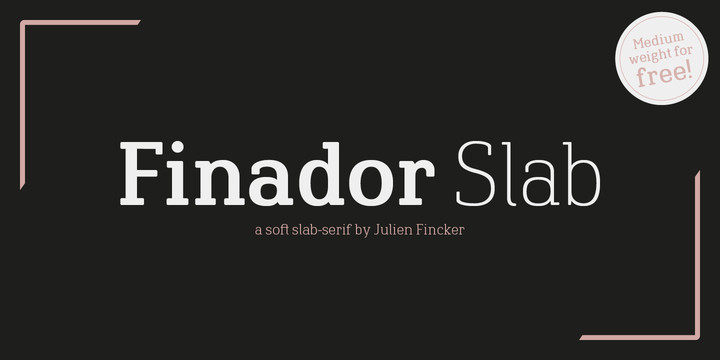 Finador Slab Font Family