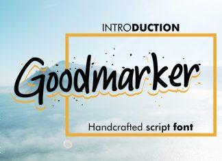 Goodmarker Handwritten Font
