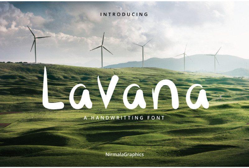 Lavana Script Font