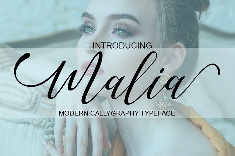 Love Malia Script Font