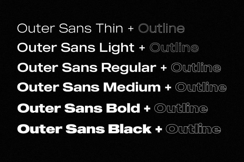 MADE Outer Font Family