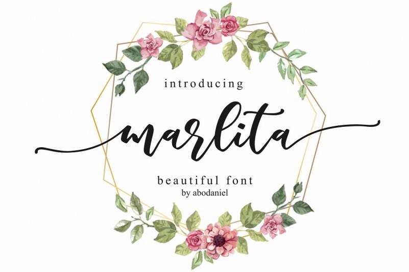 Marlita Script Font