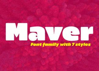 Maver Font Family