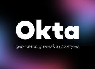 Okta Font Family