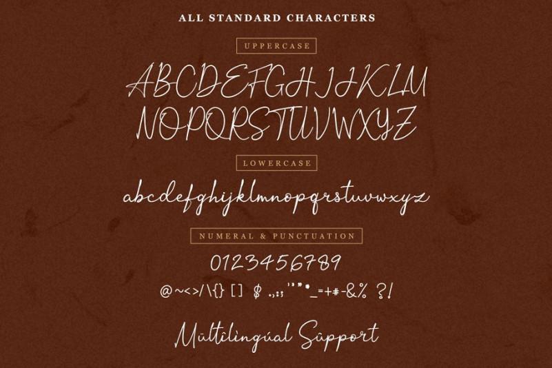 Ortisan Signature Font