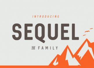Sequel Font Family