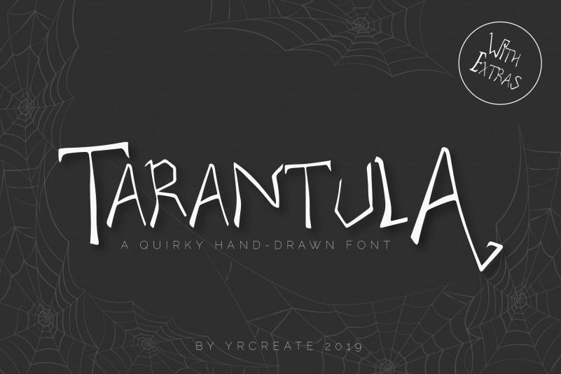 Tarantula Horror Font