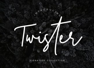 Twister Handwritten Font