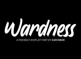 Wardness Script Font