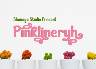 Pinklineryh Display Font