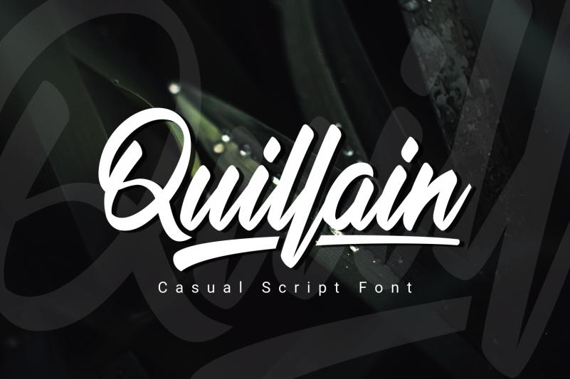 Quillain Script Font
