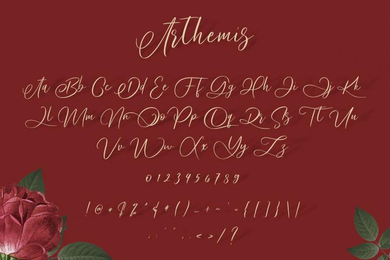 Arthemis Font
