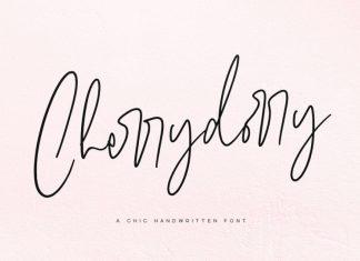 Cherrydorry Handwritten Font