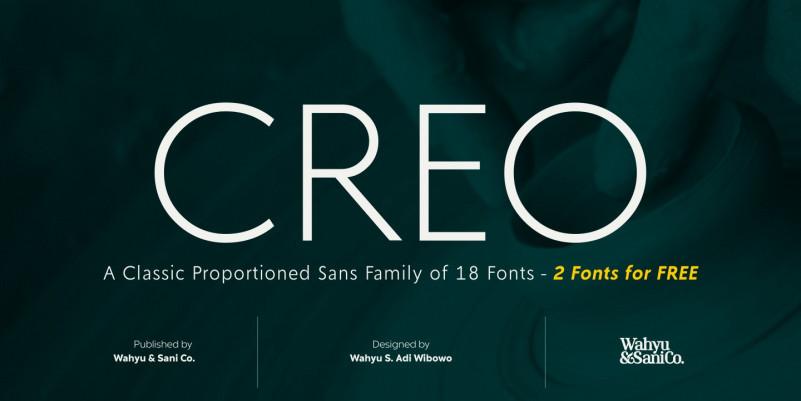Creo Sans Font Family