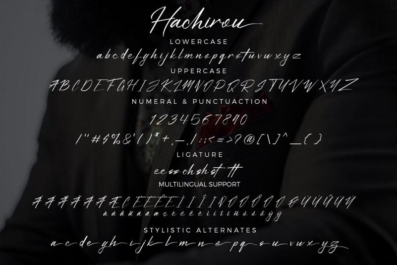 Hachirou Font
