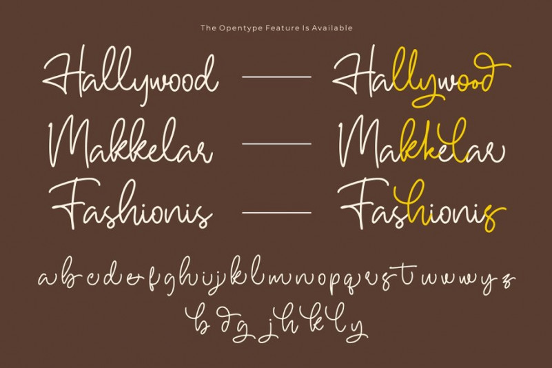 Hallywood Handwritten Font