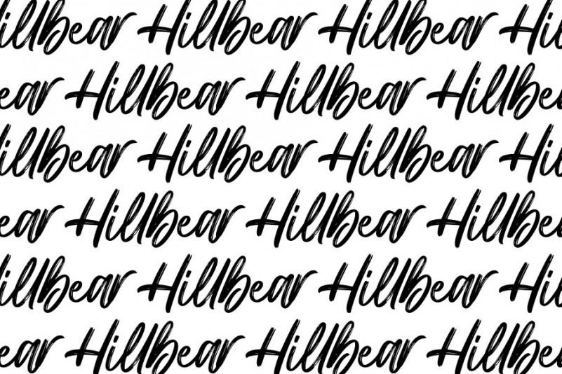 Hillbear Font
