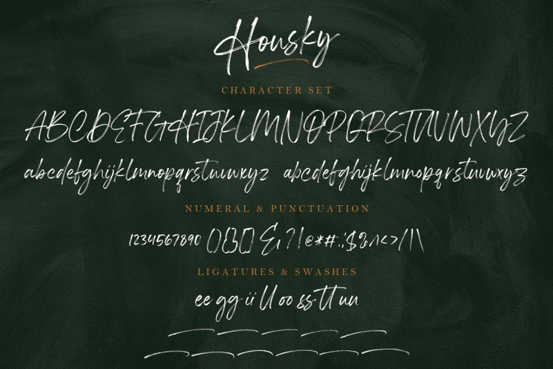Housky Font