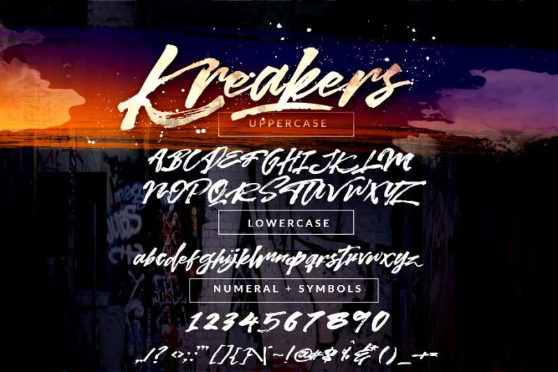 Kreakers Font