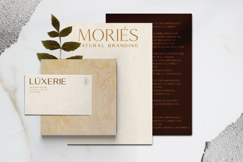 Mories Luxerie Font Duo