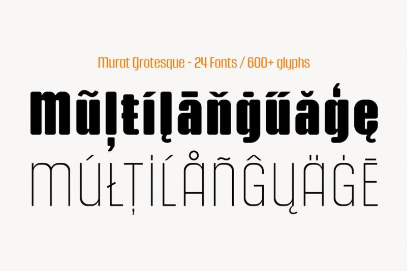 Murat Grotesque Font Family